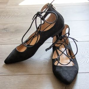 Express strapy flats